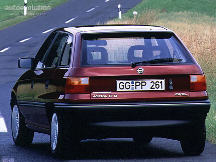 1994 Opel Astra Photos Informations Articles Bestcarmag Com
