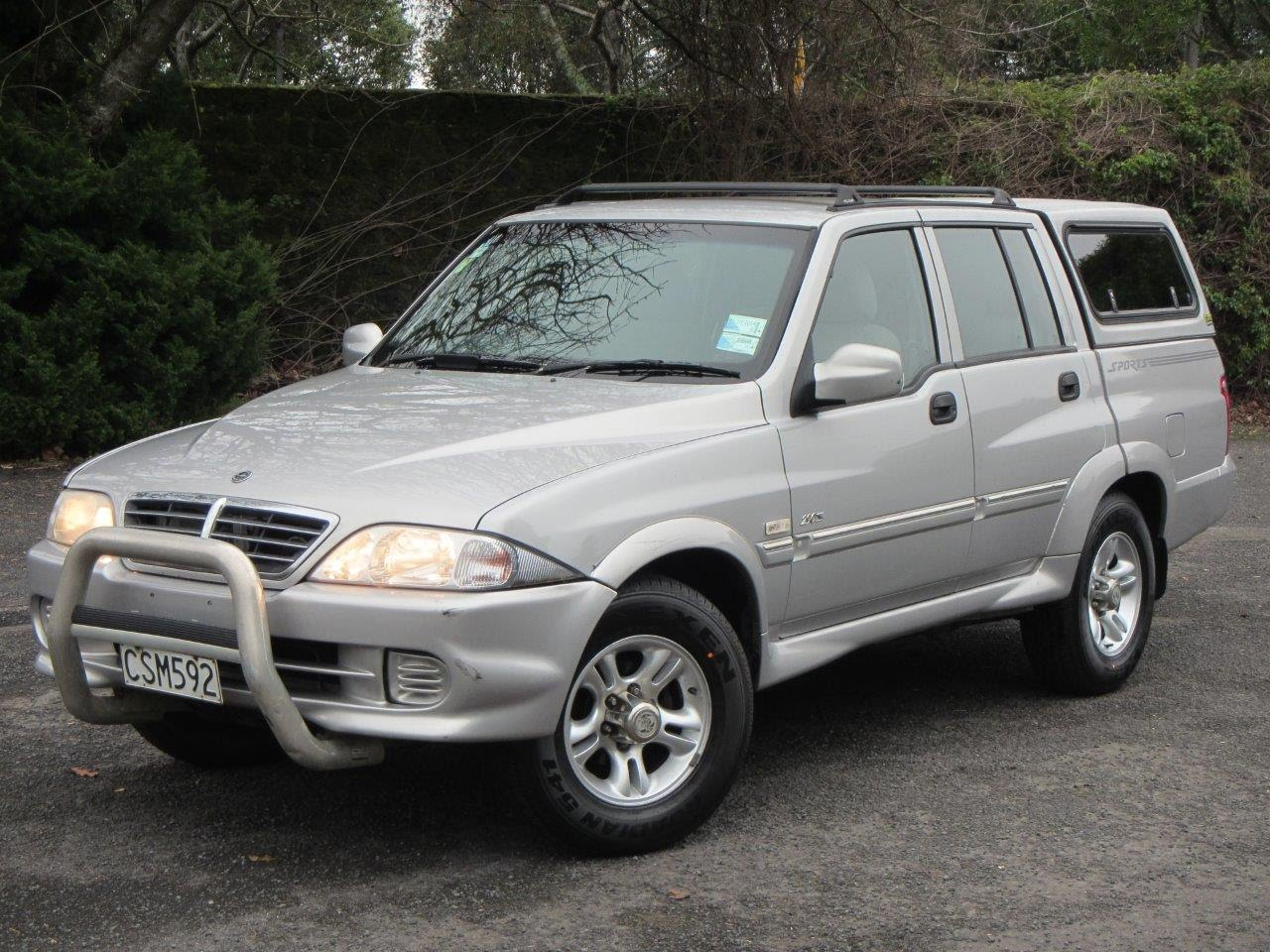 2005 Ssangyong Musso #9