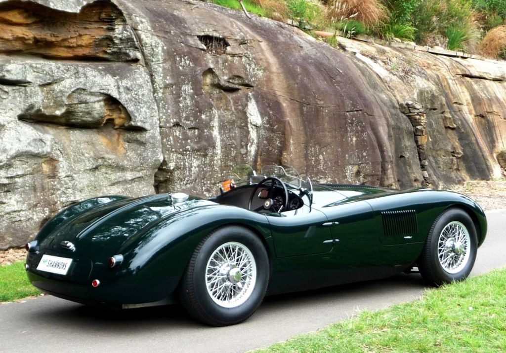 1953 Jaguar C-Type #8