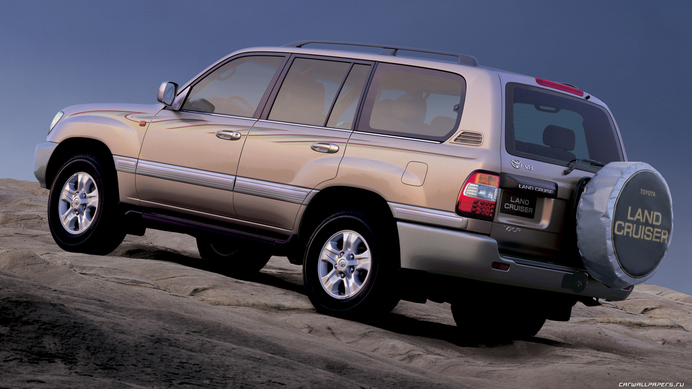 1998 Toyota Land Cruiser Photos Informations Articles