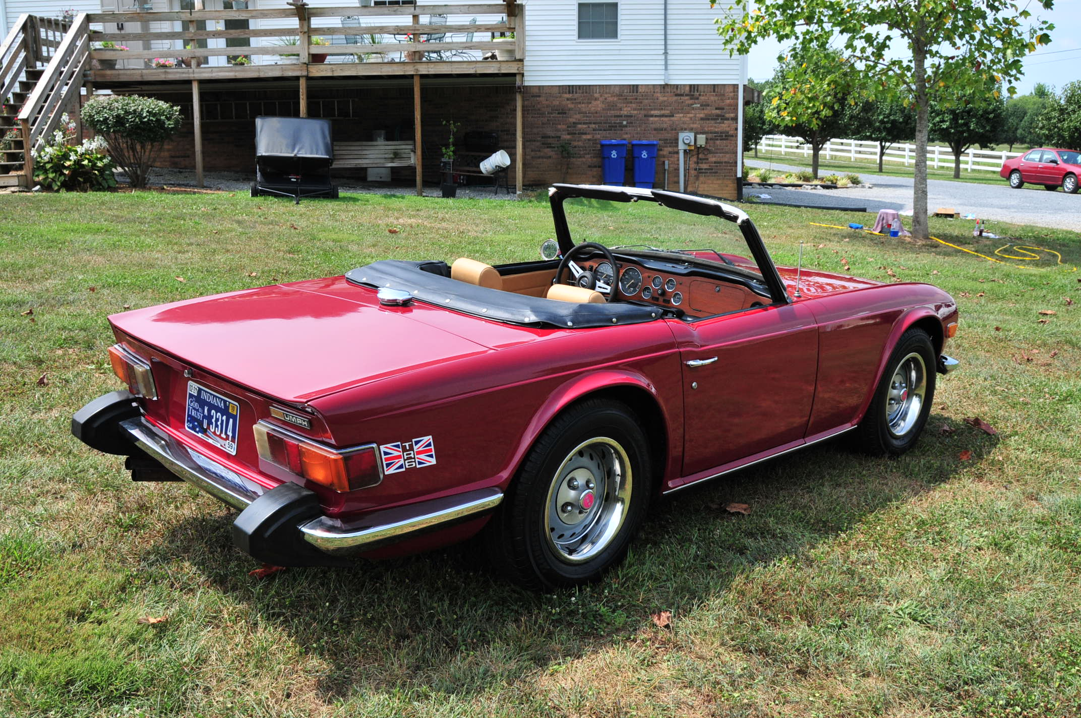 1974 Triumph Tr6 Photos Informations Articles Bestcarmagcom