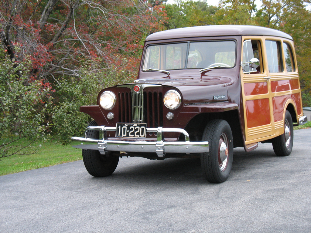 1948 Jeep Station Wagon #5