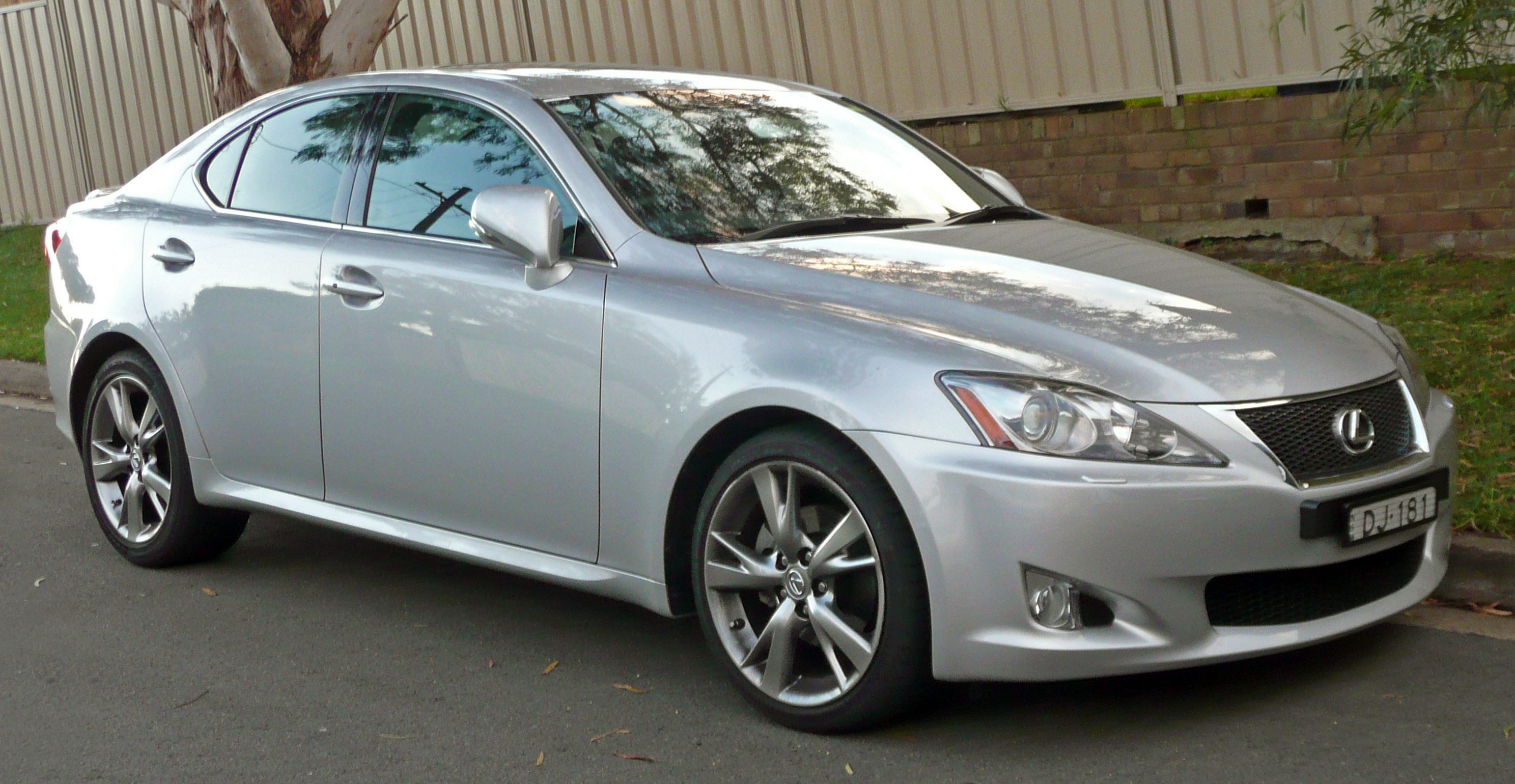 2009 Lexus Is 250 #12
