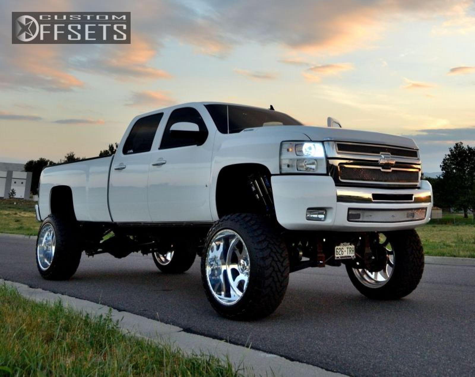 2008 Chevrolet Silverado 3500hd Photos Informations Articles Big Blue Jacked Up Chevy Truck 12