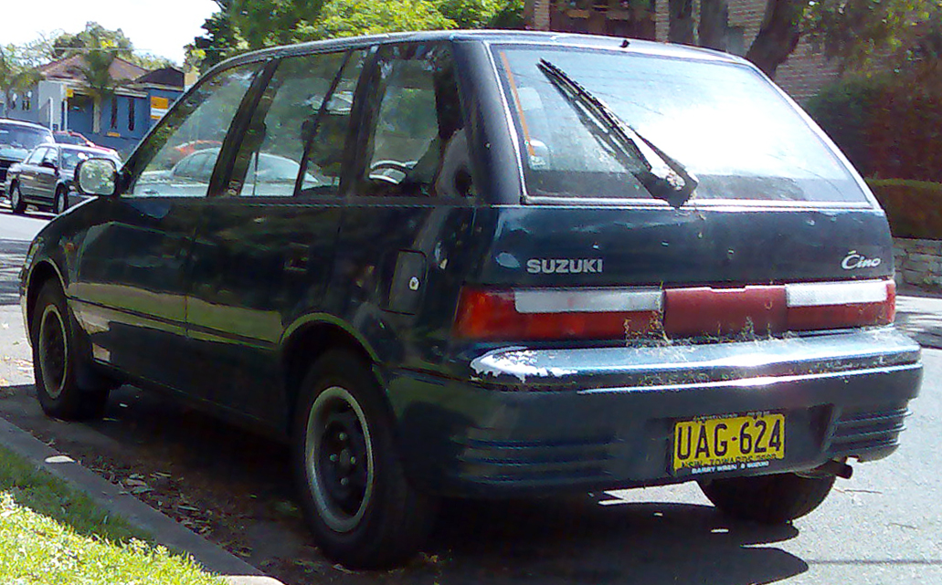 1998 Suzuki Swift #14