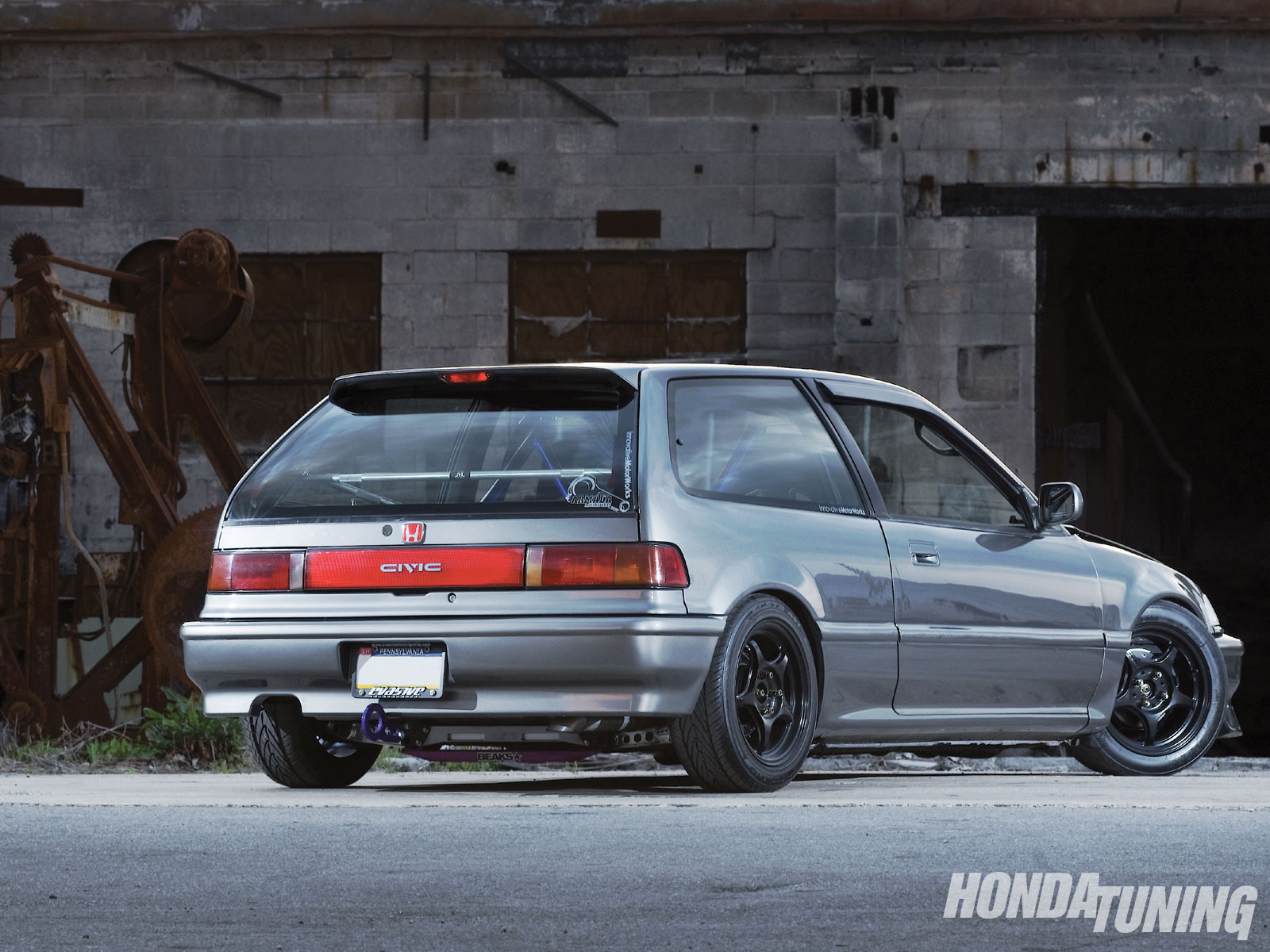 1991 Honda Civic #3