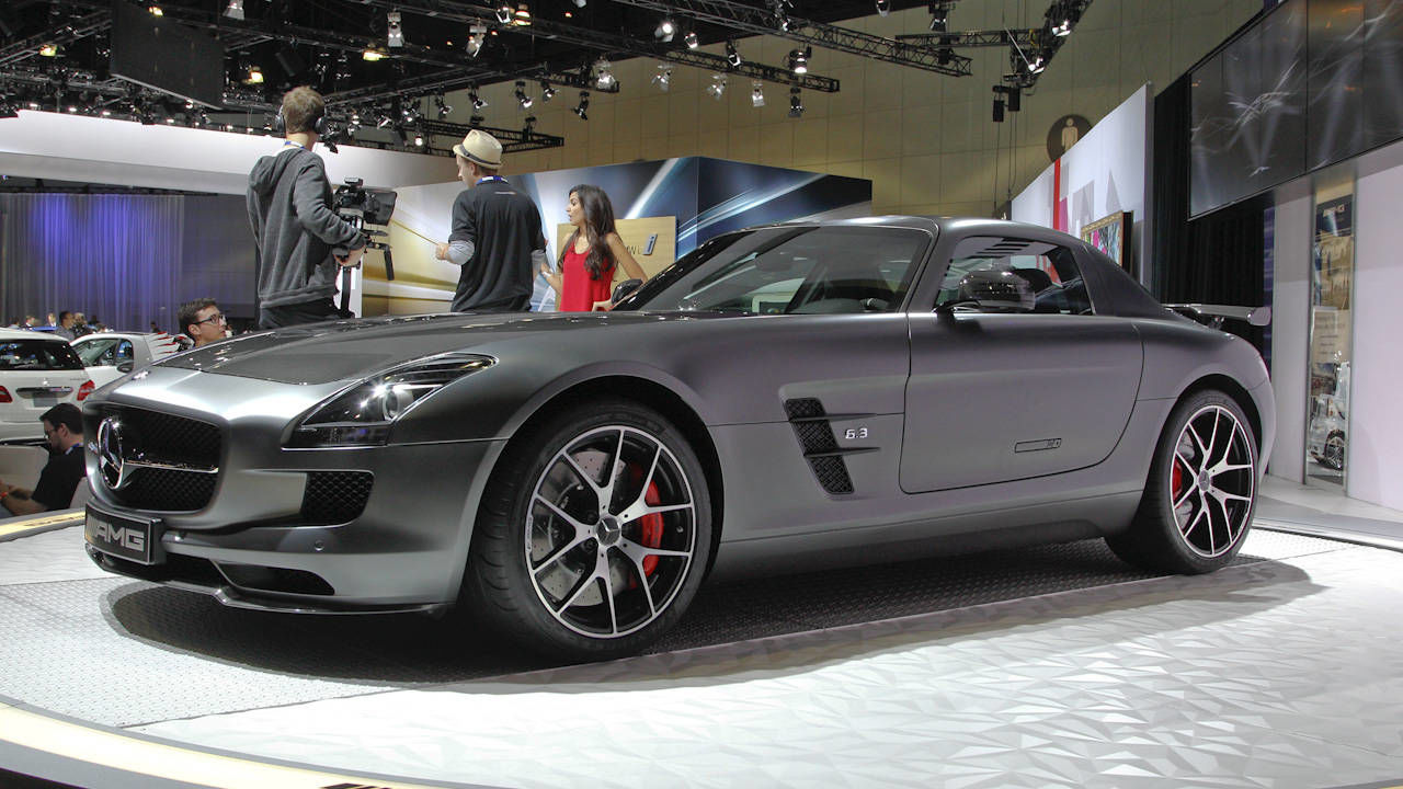 2015 Mercedes-Benz Sls Amg Gt Final Edition #6