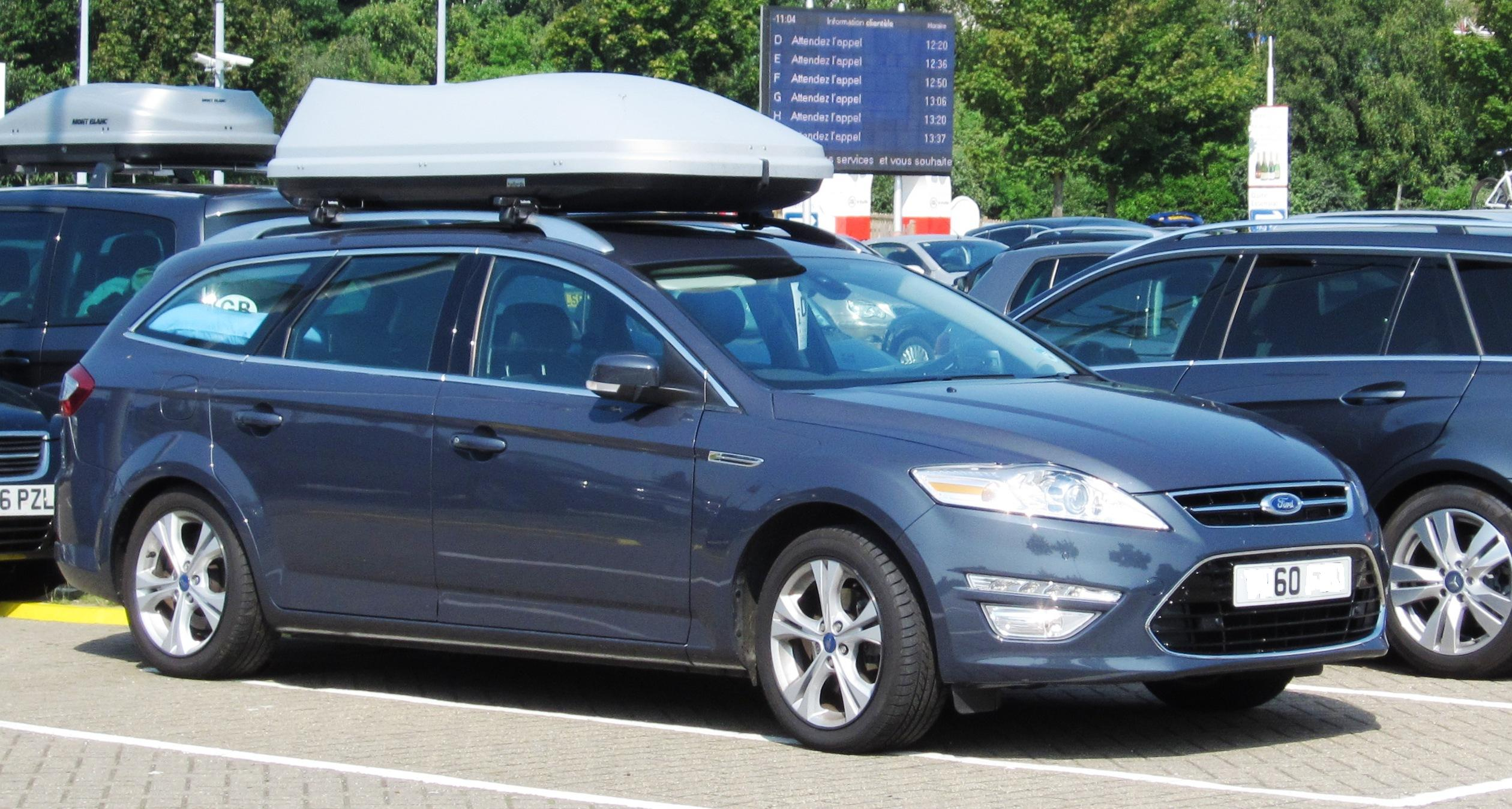 2012 Ford Mondeo #5