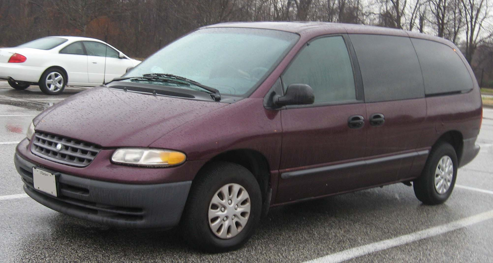 2000 Plymouth Grand Voyager #7