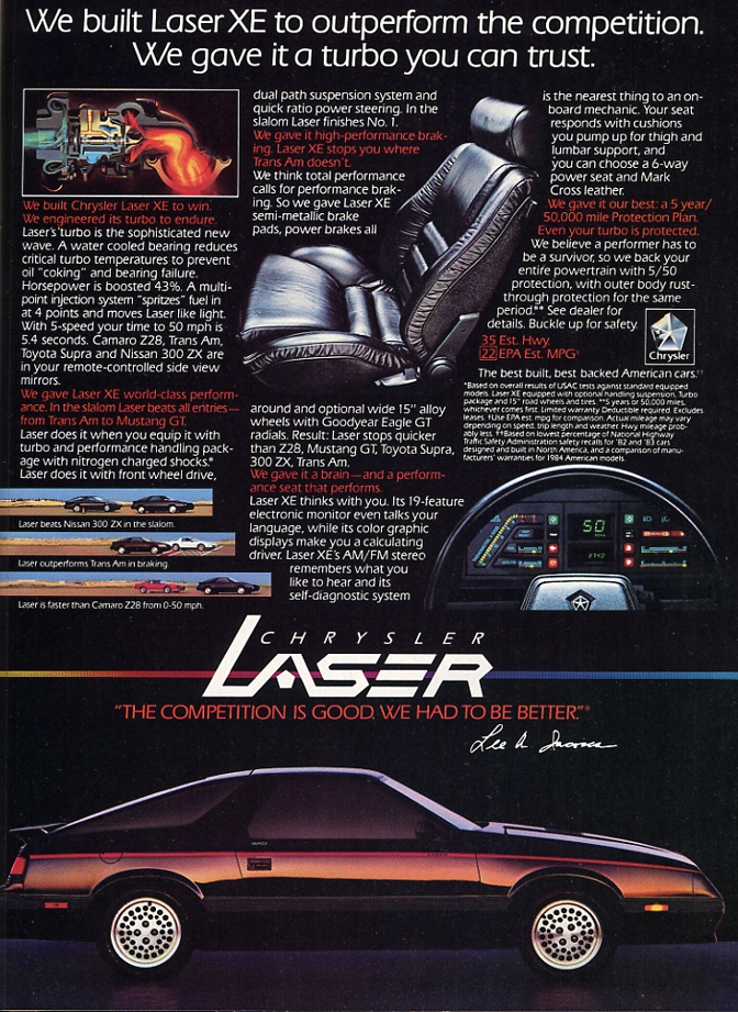 Chrysler Laser #4