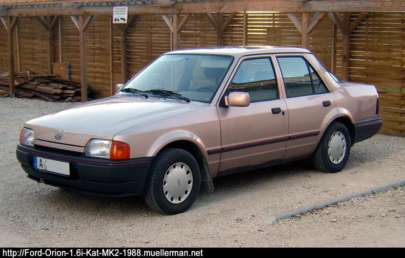 1988 Ford Orion #9