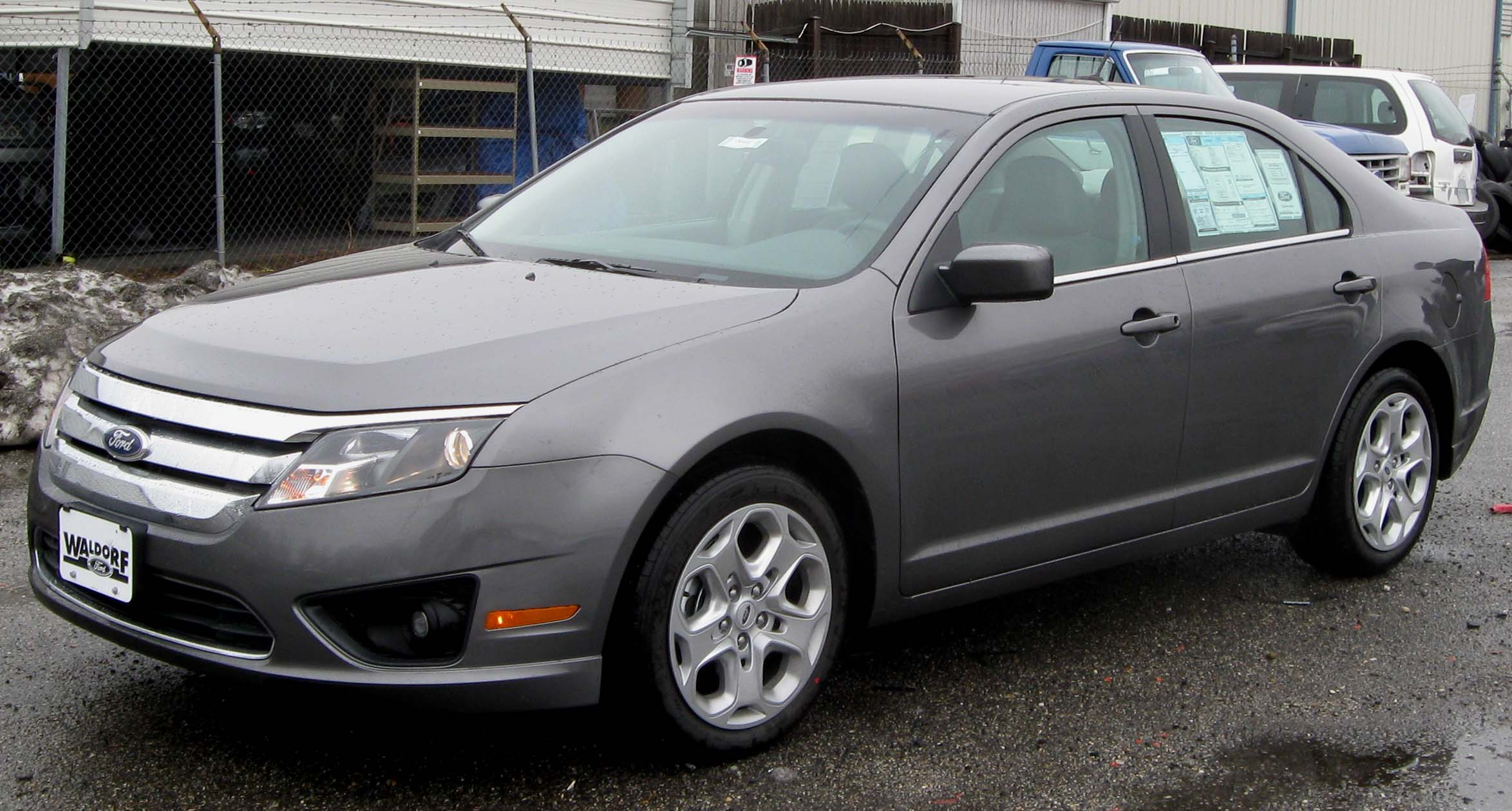 2010 Ford Fusion #9