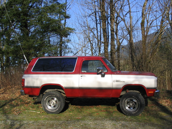 1990 Dodge Ramcharger #3