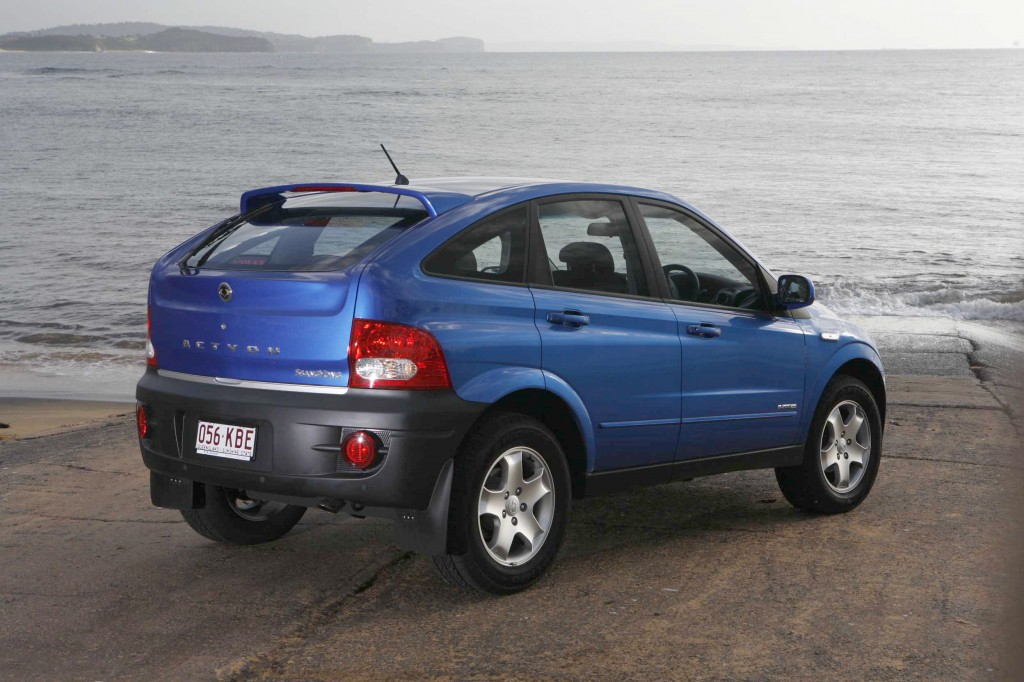 2006 Ssangyong Actyon #14