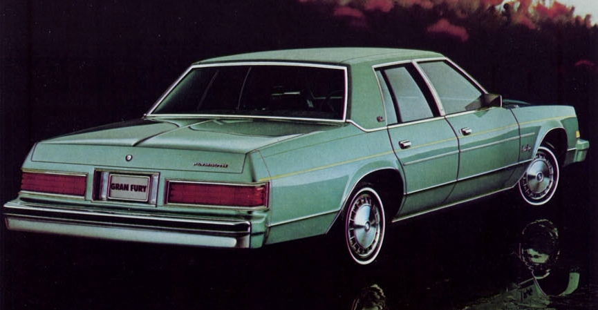 1981 Plymouth Gran Fury #9
