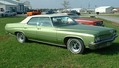 on 1971 Buick Lesabre