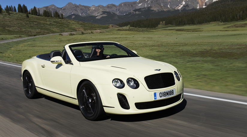 Bentley Continental Supersports Convertible #16
