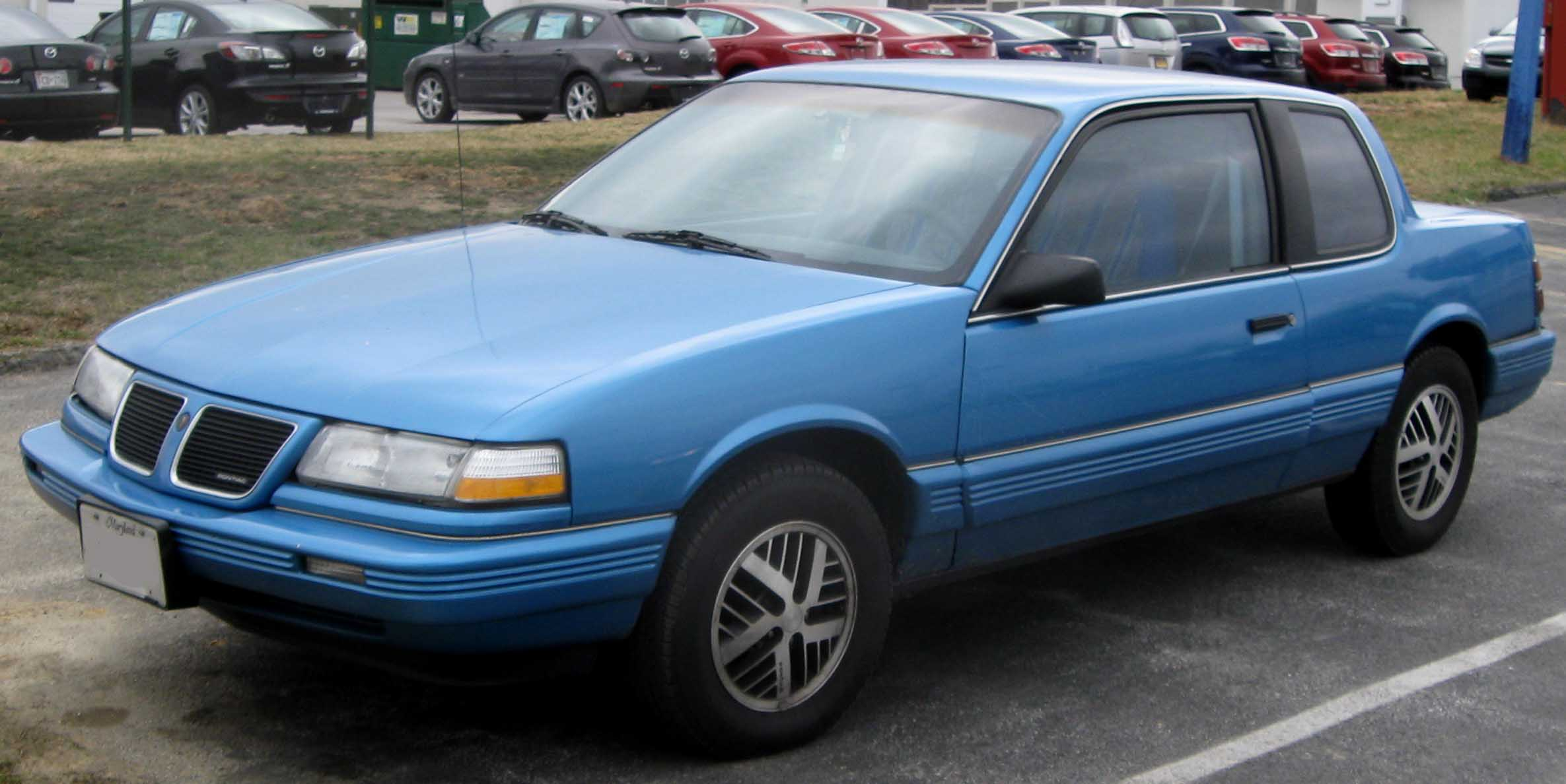 1991 Pontiac Grand Am #1