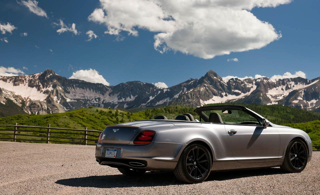 Bentley Continental Supersports Convertible #17