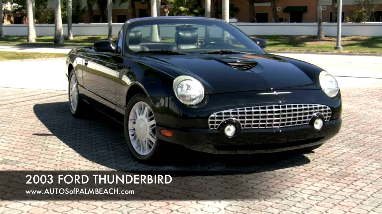 2003 Ford Thunderbird #6