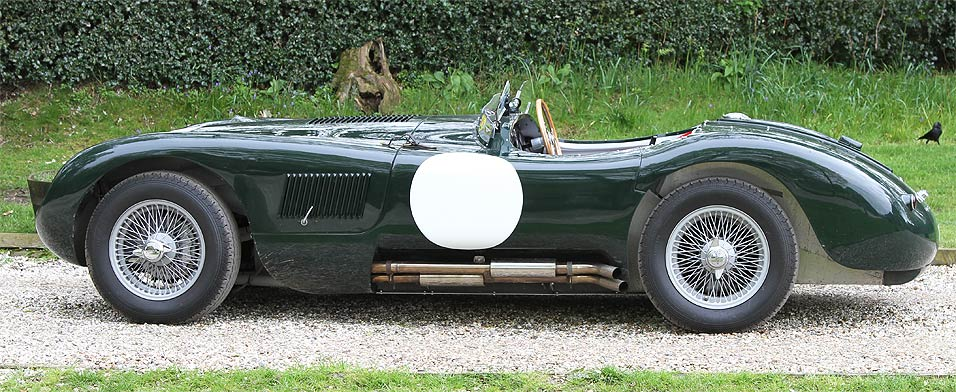 1953 Jaguar C-Type #17