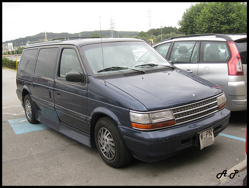 1994 Plymouth Grand Voyager #10