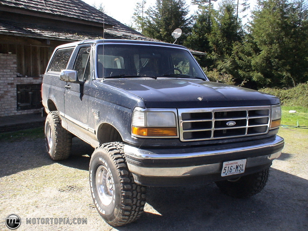 1993 Ford Bronco #5