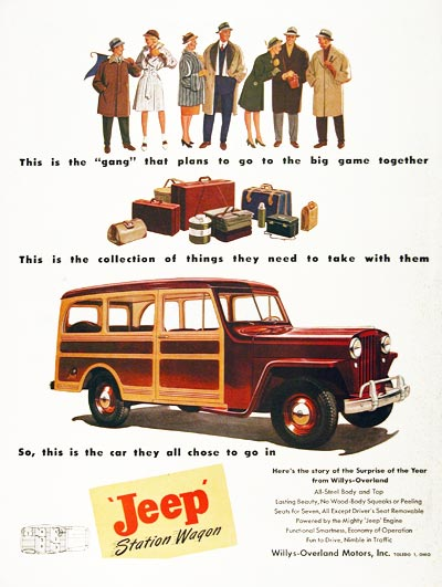1946 Jeep Station Wagon #9
