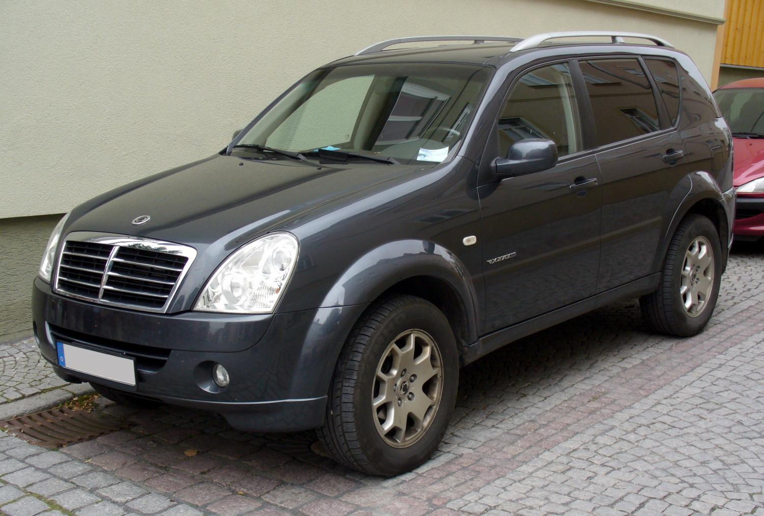 2009 Ssangyong Musso #6
