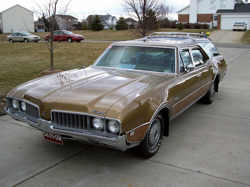 1969 Oldsmobile Vista Cruiser #5