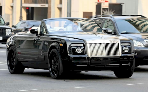 Rolls royce Phantom Drophead Coupe #5