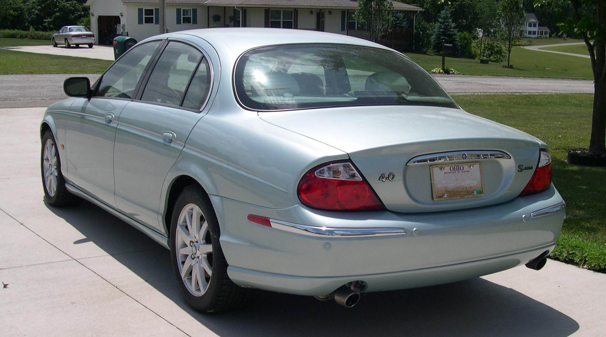 2001 Jaguar S-type #2
