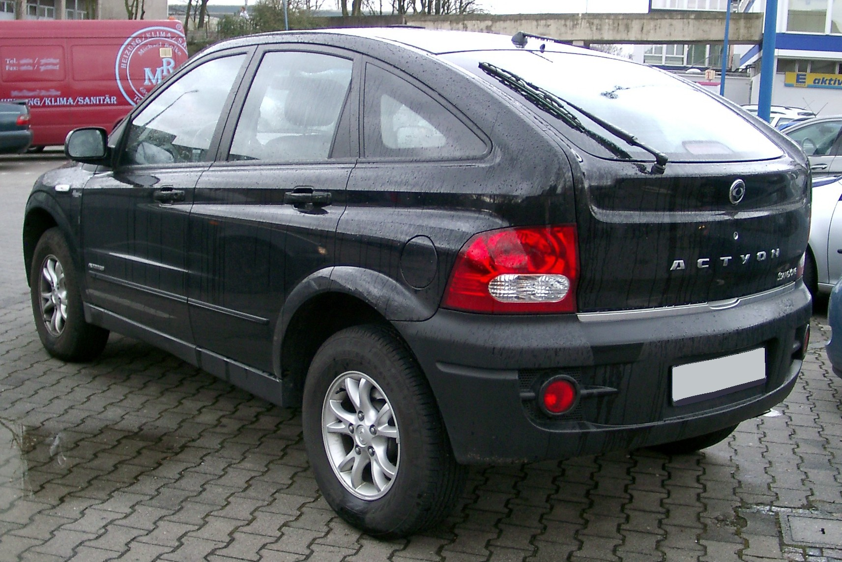 2008 Ssangyong Actyon #7