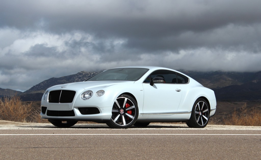 2014 Bentley Continental Gt #3