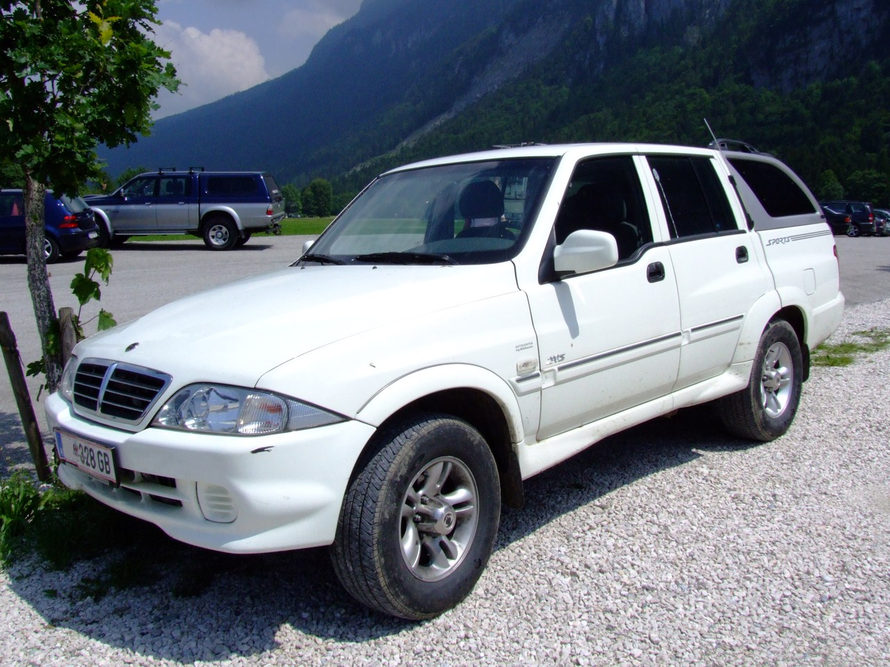 2007 Ssangyong Musso #2