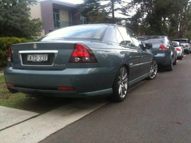 2005 Holden Calais Photos Informations Articles