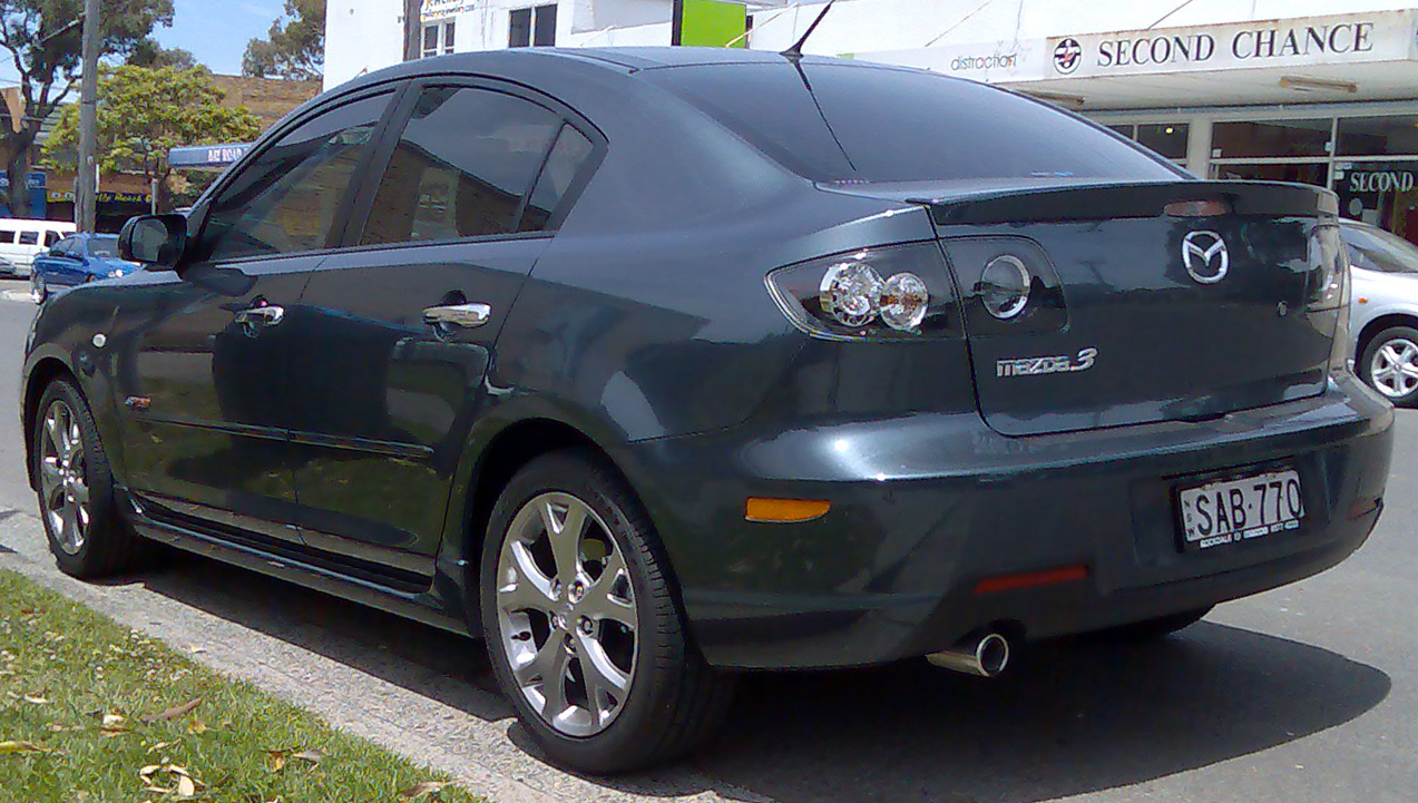 2008 mazda 3 photos informations articles. Black Bedroom Furniture Sets. Home Design Ideas
