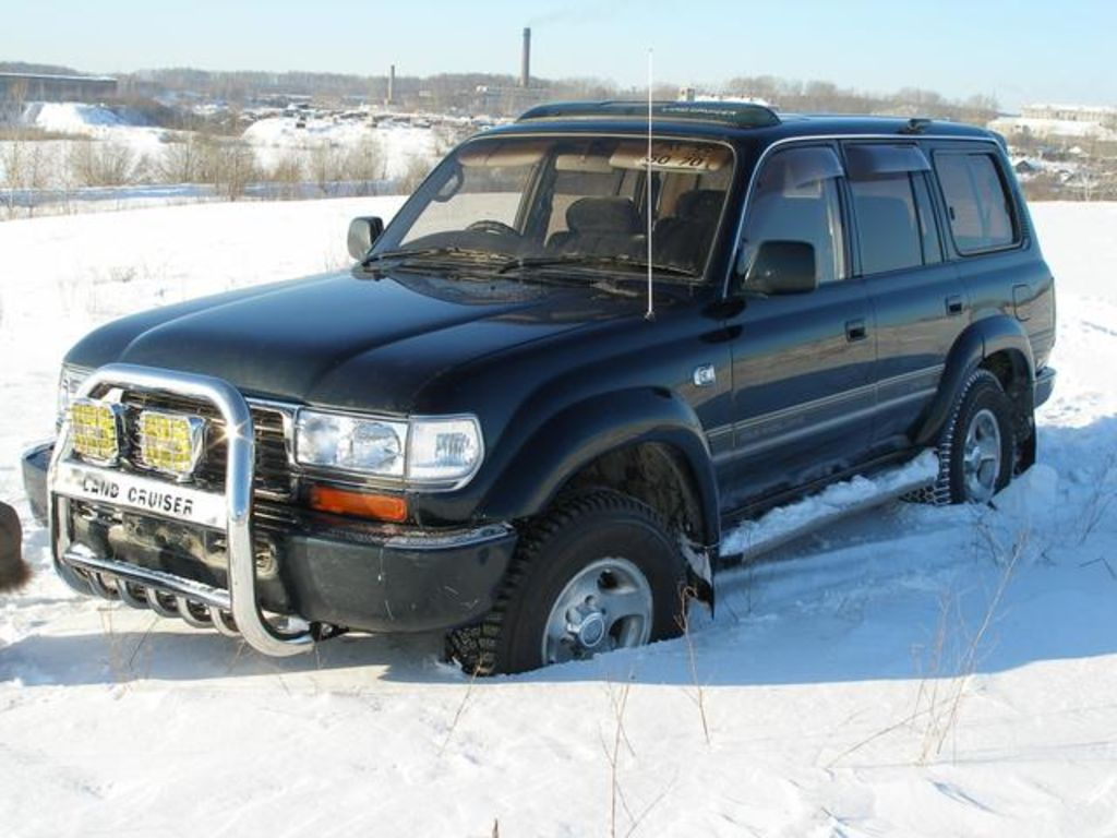 1995 Toyota Land Cruiser #3