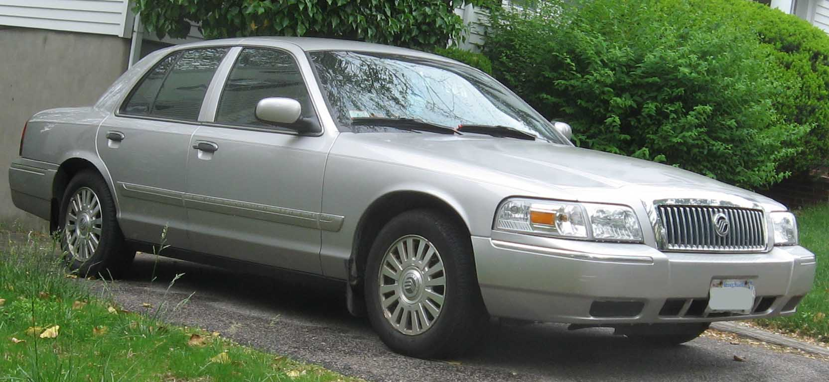 2008 Mercury Grand Marquis #1