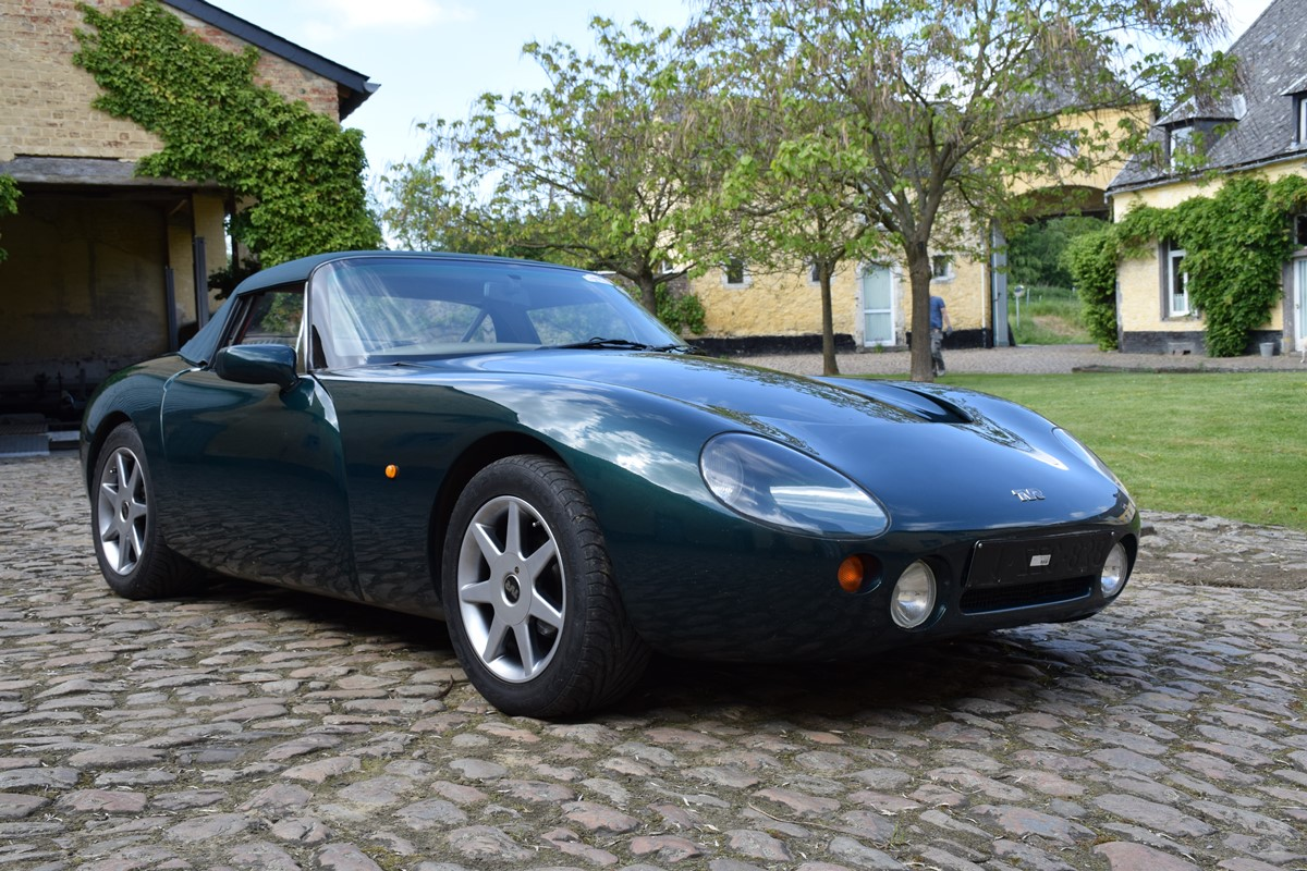 1992 TVR Griffith #8