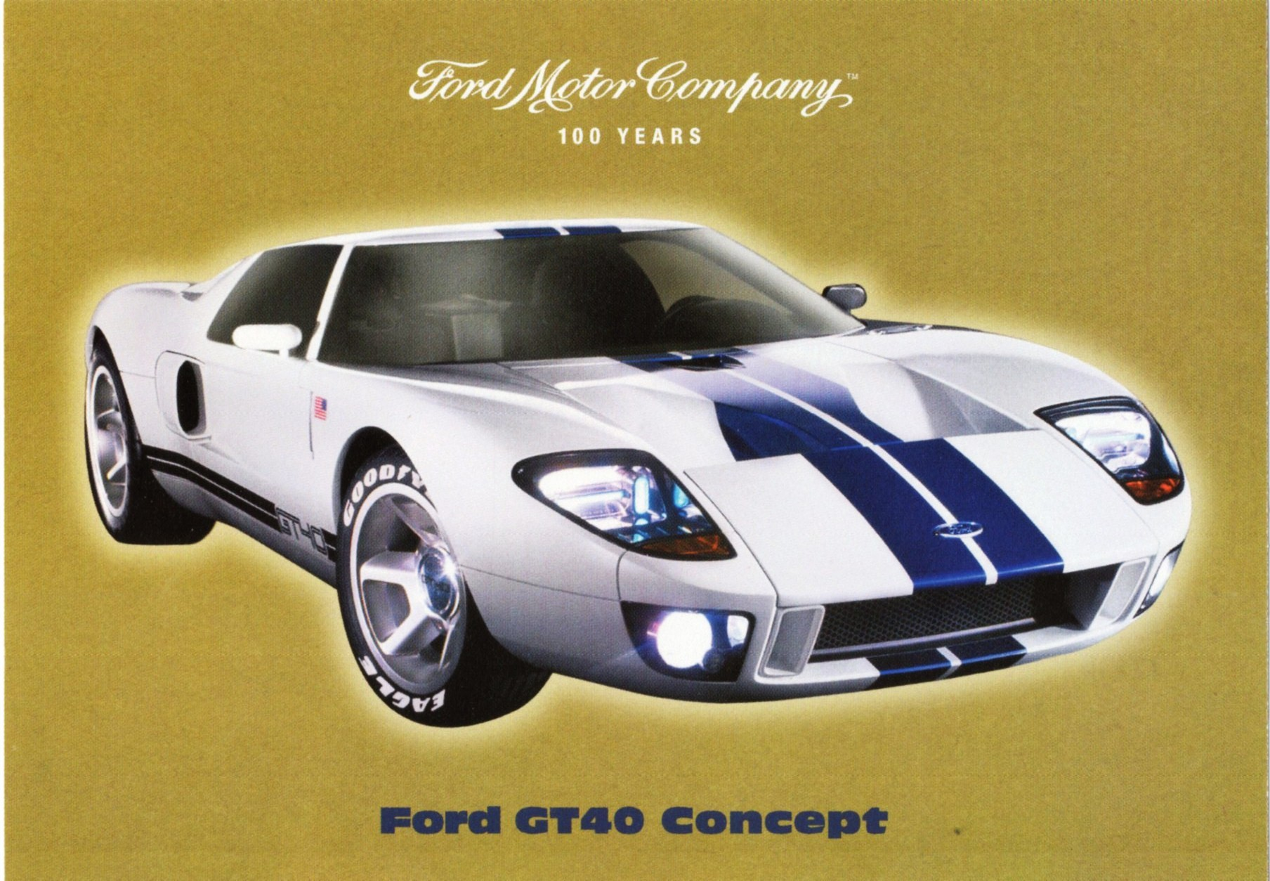 2002 Ford GT 40 #7