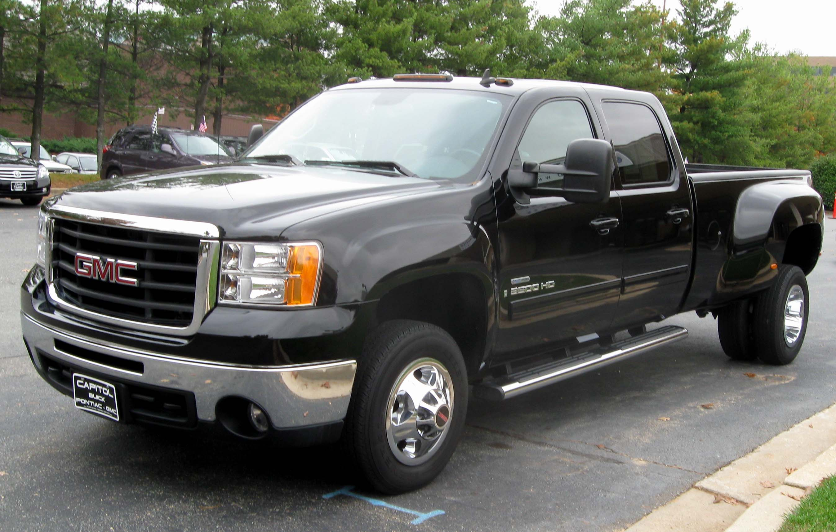 2011 GMC Sierra 3500hd #12