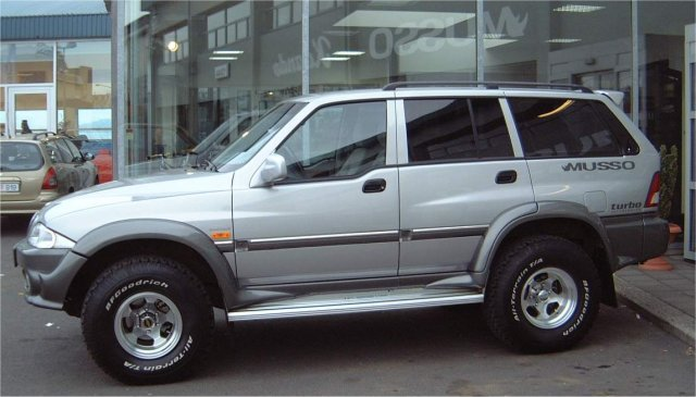 Ssangyong Musso #16