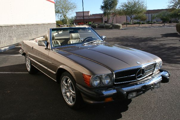 1989 Mercedes-Benz SL #3