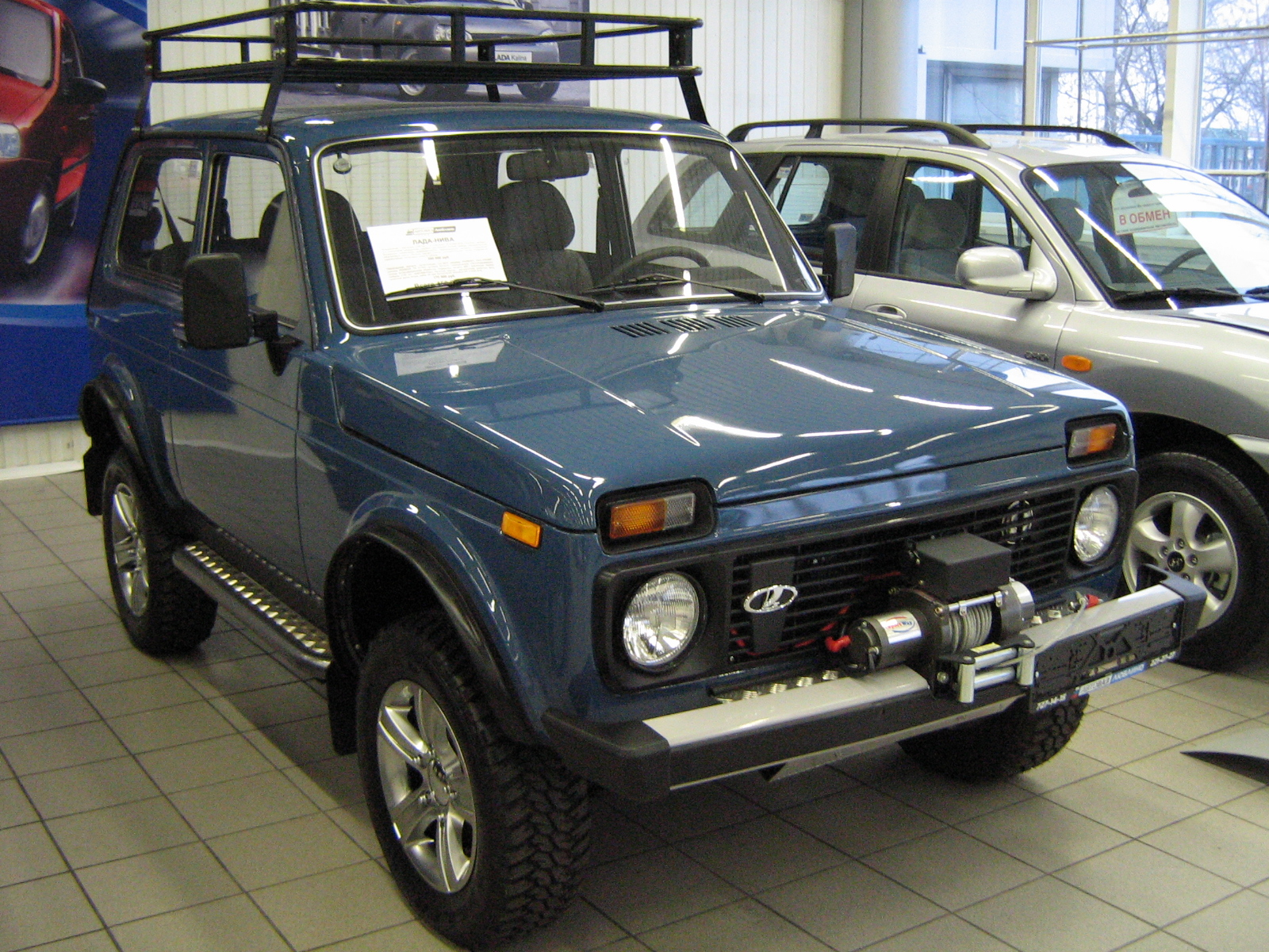 2008 lada niva photos informations articles. Black Bedroom Furniture Sets. Home Design Ideas