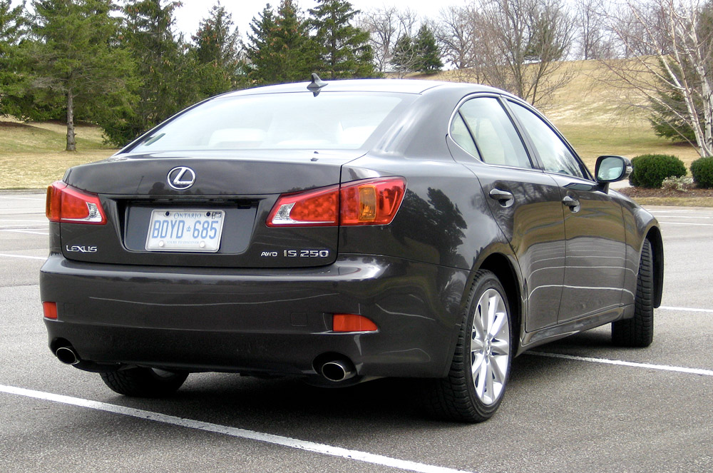 2009 Lexus Is 250 #6