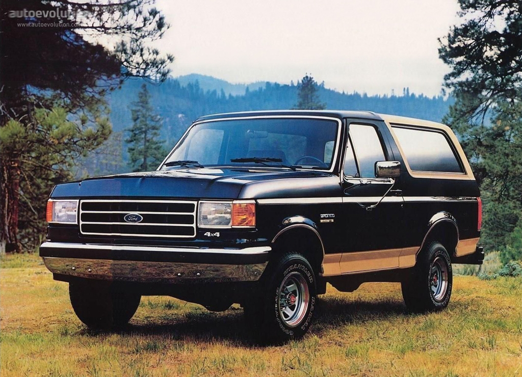 1991 Ford Bronco #1