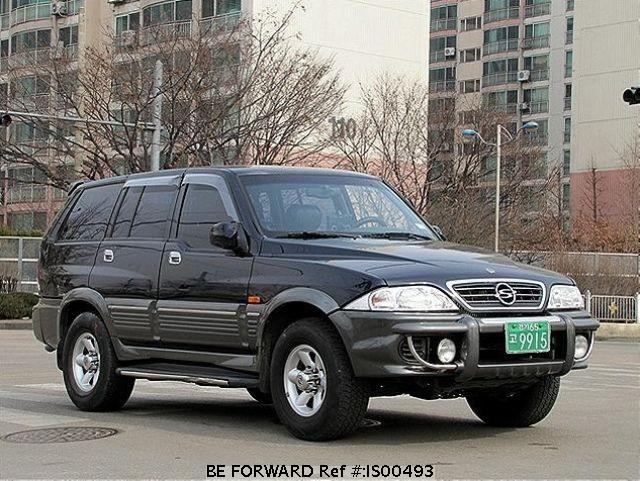 2001 Ssangyong Musso #2