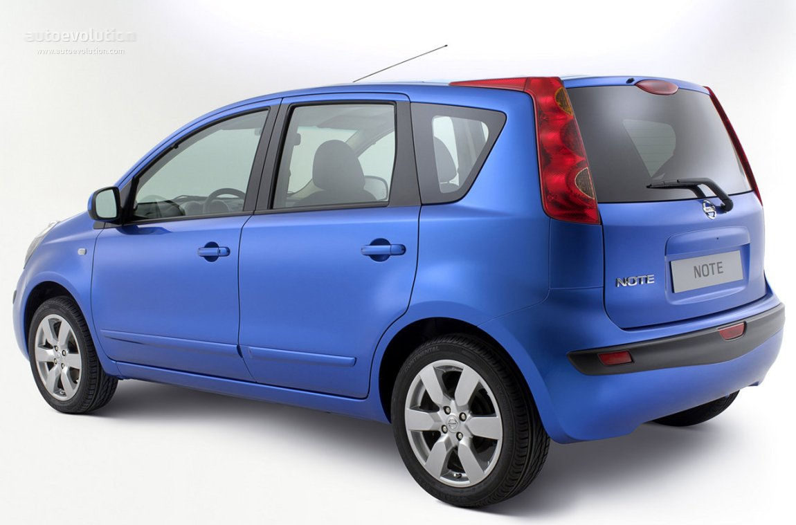 2008 Nissan Note #8