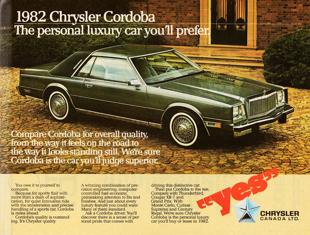 1982 Chrysler Cordoba #7